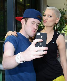 Singer Jessie J at Today FM's Ray Darcy show