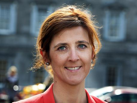 Michelle Mulherin,Fine Gael deputy for Mayo at Leinster House