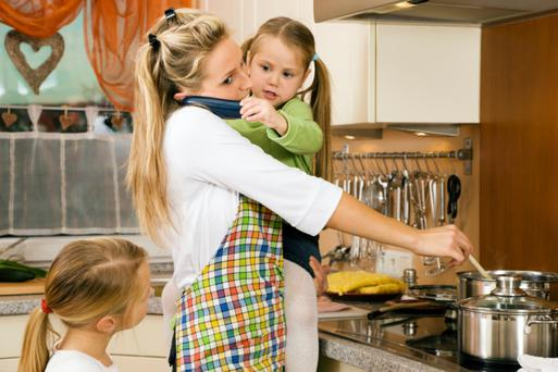 Today's mums now feel like failures if they are not rustling up family meals from scratch every night, a new study claims