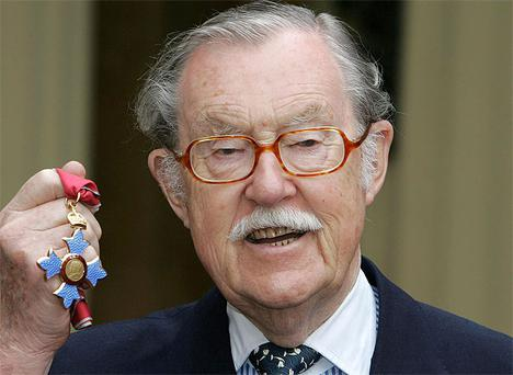 Veteran broadcaster Alan Whicker who died at the age of 87