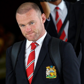 Manchester United's Wayne Roone. Picture credit: Chaiwat Subprasom/Reuters