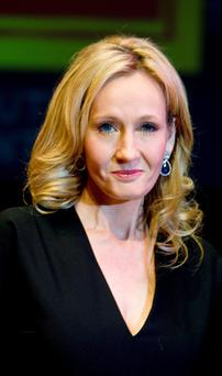 Harry Potter author JK Rowling who has secretly written a crime novel under a false name.