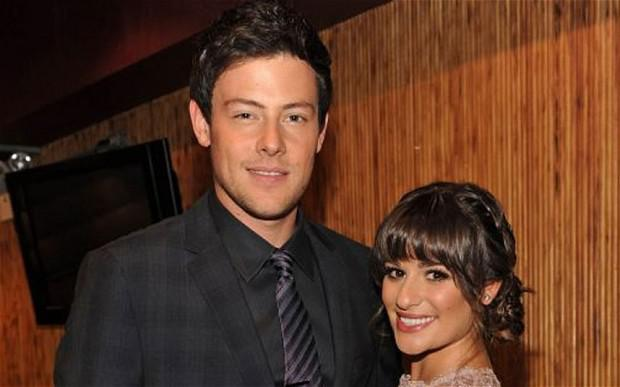 Cory Monteith: the actor, who was found dead in a Canada hotel room, pictured with his Glee co-star and real-life girlfriend Lea Michele