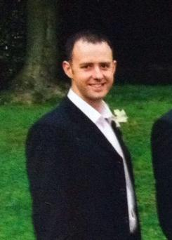 Firefighter Stephen Hunt who was killed in the blaze