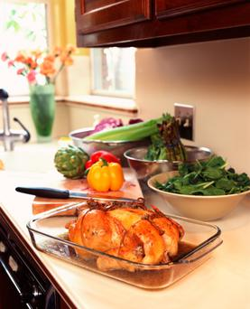 It is important to cook chicken completely through, but it is easy to overdo it and be left with dry, tasteless meat