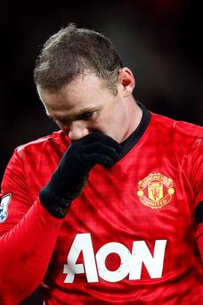 Manchester United have rejected a bid for Wayne Rooney from Chelsea