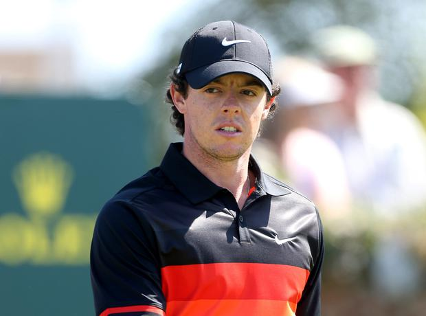 Northern Ireland's Rory McIlroy today