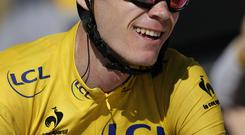 Christopher Froome during this year's Tour de France