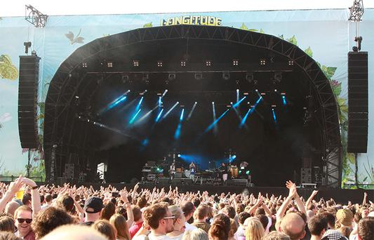 Fans at the Logitude festival at Marlay Park last year