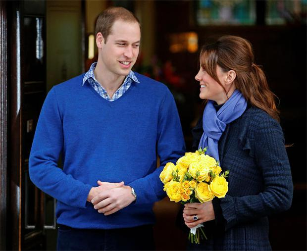 Kate and husband William arrived at the private Lindo Wing of St Mary's Hospital in London by car without a police escort just before 6am.