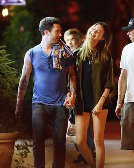 Adam Levine and Behati Prinsloo are engaged