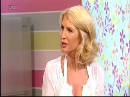 Yvonne Keating with Eamon Holmes and Ruth Langsford on ITV's This Morning