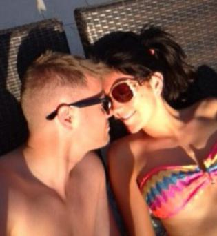 Georgina and Nicky on their Twitter holiday snaps