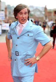 Comedian Steve Coogan, as his alter-ego Alan Partridge, attends the world premiere of his new film Alpha Papa at the Hollywood Cimema in Anglia Square, Norwich