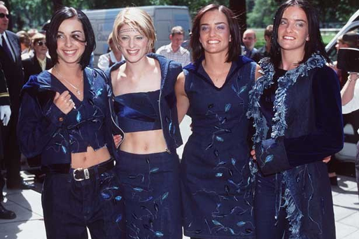 B*Witched were famous for their love of denim in 1999 when they were on top of the Irish music charts
