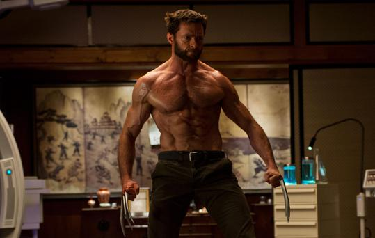 A scene from The Wolverine