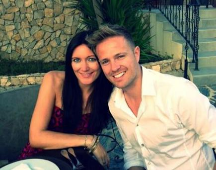 Nicky and Georgina took time out in Portugal before Nicky's The Hit TV debut.