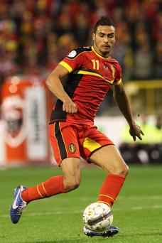 Nacer Chadli is a Belgian international