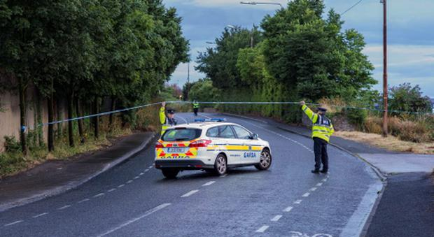 Sunday 28 July 2013. Greenhill's Road, near scene of fatal collision.