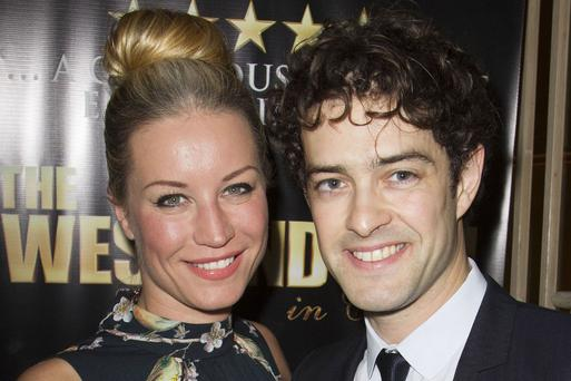 Denise Van Outen and Lee Mead met on a TV show and have one daughter.