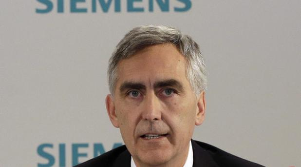 Peter Loescher, CEO of German industrial conglomerate Siemens,(AP Photo/Matthias Schrader,File)