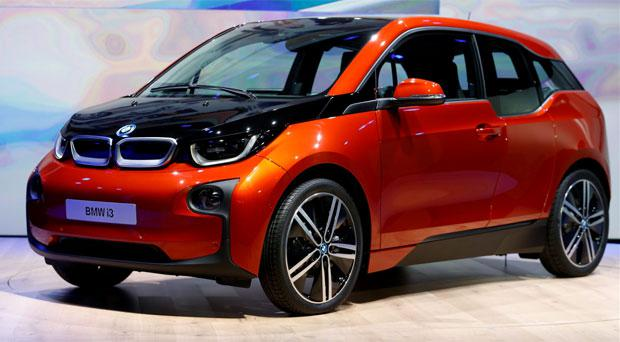 BMW's new electric car the i3