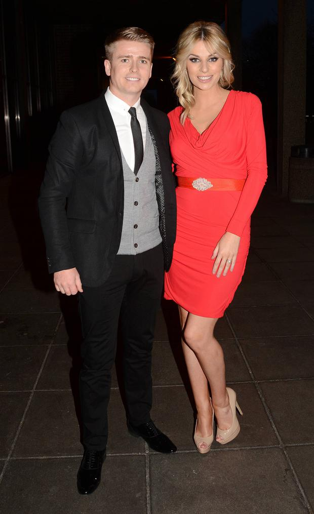Brian Ormond & Pippa O'Connor as guests on The Saturday Night Show, April 2013.