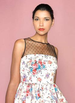 RED Valentino floral dress with tulle end, €810, Brown Thomas.