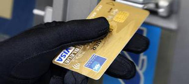 The cunning tricksters cloned Andy Welch's card at an ATM