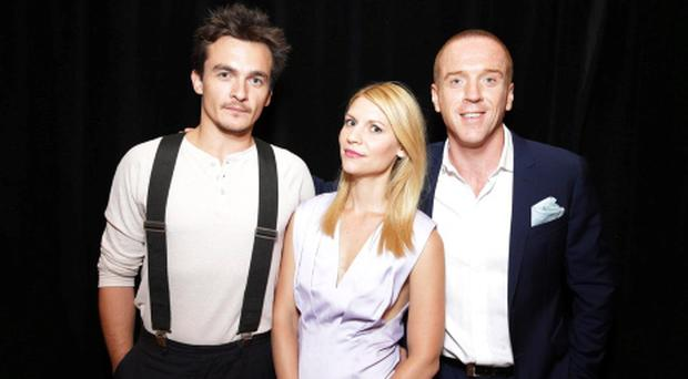 Rupert Friend, Claire Danes and Damian Lewis