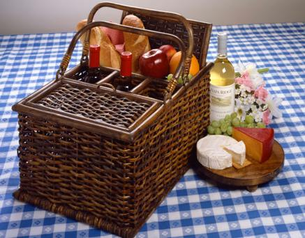 When packing a picnic basket the main concern is food safety and keeping food chilled