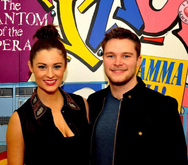 The actor has been dating model Madeline Mulqueen for more than a year