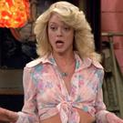 Lisa Robin Kelly played Eric Forman's older sister on That 70s Show.