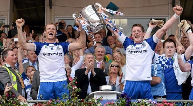 Investec, which has been working hard to build its brand in Ireland, sponsors the Monaghan senior GAA team