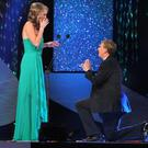 Kyle Catlett proposed to New Orleans Rose Molly Molloy Gamble last night at the Rose of Tralee