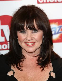 LONDON, ENGLAND - SEPTEMBER 10: Coleen Nolan attends the TV Choice awards 2012 at The Dorchester on September 10, 2012 in London, England. (Photo by Tim Whitby/Getty Images)