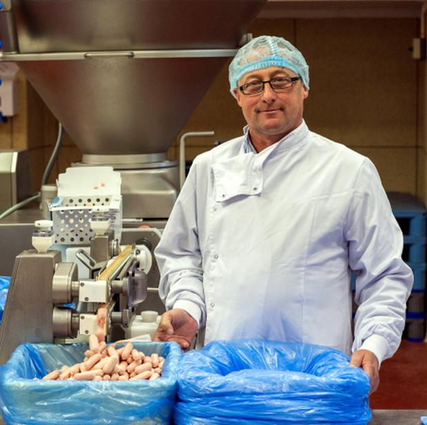 Maurice Kavanagh, joint director at Granby Sausages. Photo: Doug O'Connor