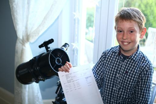 Monty Rix, from St Austell in Cornwall, who dreams of working for Nasa and is