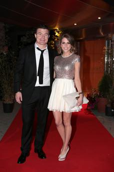 Brian O'Driscoll and Amy Huberman will be guests on the Late Late Show.