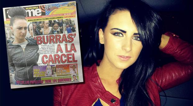 Michaella McCollum Connolly has made frontpage news in Peru, with the story gaining nationwide attention