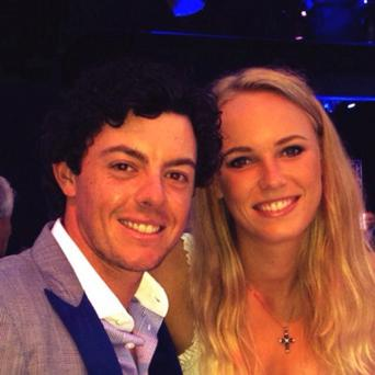 Caroline Wozniacki's new profile picture on Twitter August 25, 2013