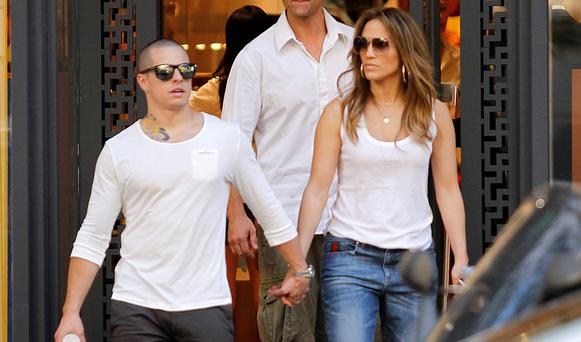 Jennifer Lopez and Casper Smart have been dating for two years