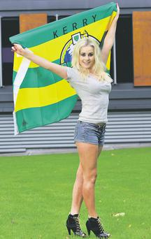 Cara Spillane, daughter of Kerry football legend Pat Spillane. Pic Daragh Mc Sweeney/Provision