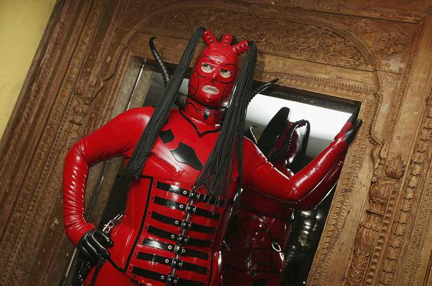 Boyfriend wants to watch porn in which there are women dressed in leather bodysuits and whipping men. (file image)