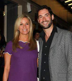 Tamzin Outhwaite and Tom Ellis have split after seven years together.