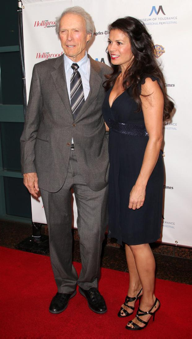 Clint Eastwood and Dina Eastwood at an event in 2010