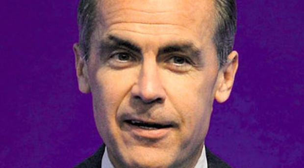 Recovery: Mark Carney, governor of the Bank of England