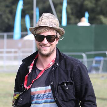Kian Egan pictured at the last day of Electric picnic at Stradbally, Laois. Damien Eagers / Irish Independent