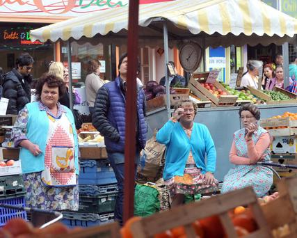 Mrs Brown originally had a stall on Moore Street