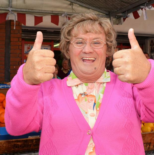 Ratings winner: Mrs Brown is at the centre of the RTE Christmas schedule